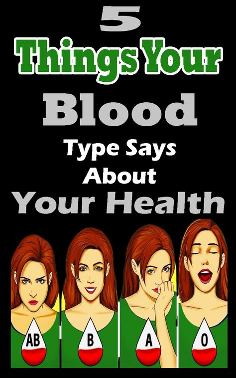 5 Things Your Blood Type Says About Your Health  The blood kind you have got has an important position in terms of your usual health.  whilst we're talking approximately your fitness, there are a few factors which might be modifiable and a few are not. One of those such non-modifiable factors is your blood group. #healthtips | #health | #healthnutrition