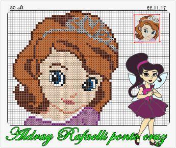 Princesinha Sofia Disney Cross Stitch Disney Cross Stitch Patterns Stitch Cartoon