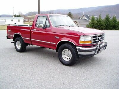 1994 Ford F 150 Xlt 4x4 Pickup Truck Old 1990 S Trucks For Sale