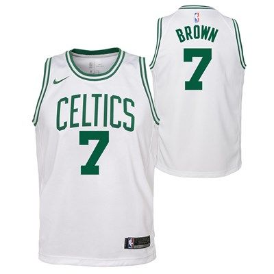 new product aa486 cf14e Boston Celtics Nike Association Swingman Jersey - Jaylen ...