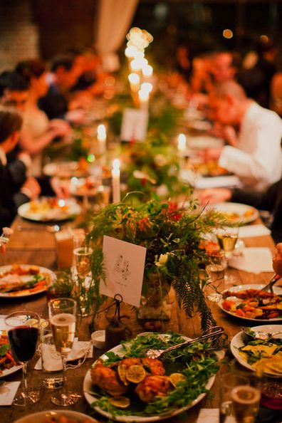 11 best Family style table setting images on Pinterest | Weddings ...
