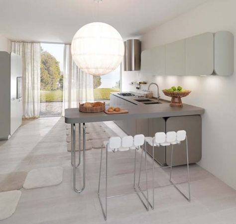 Flowing Open Interiors From Euromobil | Kitchen Cupboards, Cupboard And  Kitchens