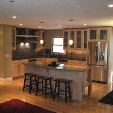 Raised Ranch Style For Small Kitchen Remodel Ideas Split Entry