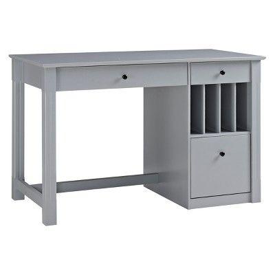 Pin By Mai B On Desk In 2021 Saracina Home Computer Desk Grey Desk