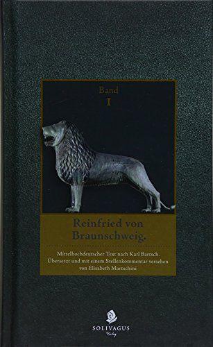 Reinfried Von Braunschweig Band I Verse 1 6 834 Braunschweig Von Reinfried Verse Braunschweig Verse
