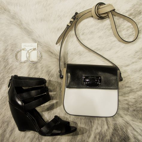 Stanton Smooth Leather Cross-Body - Kenneth Cole