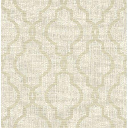 Kenneth James Geometric Jute Taupe Quatrefoil Wallpaper Walmart Com Quatrefoil Wallpaper Gold Quatrefoil Wallpaper Wallpaper Samples