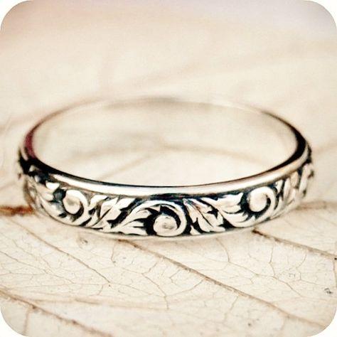 Renaissance Romance  Sterling Silver Wedding por lovestrucksoul, $34.00