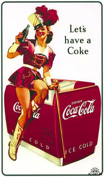 Coca Cola Majorette