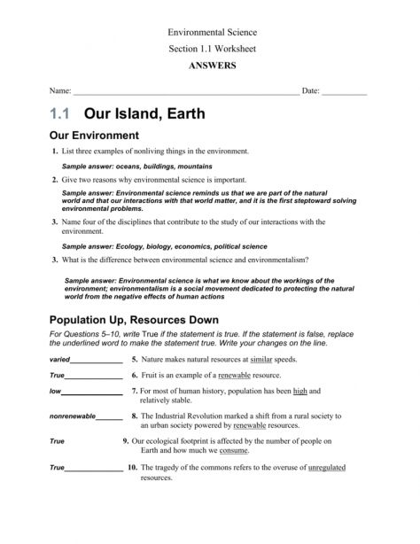 8 Science And The Natural World Worksheet Answer Key Science