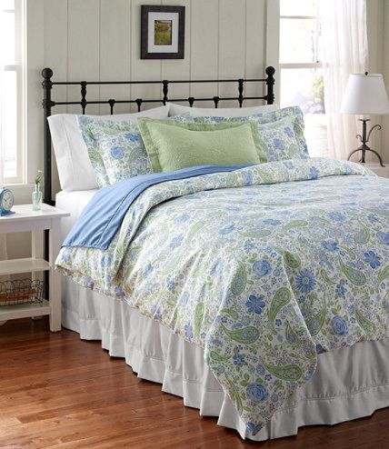 Now On Sale At L L Bean Our Wrinkle Free Comforter Cover Floral Get Free Shipping And The Best Prices On Home Good Comforter Cover Simple Bedroom Home Decor
