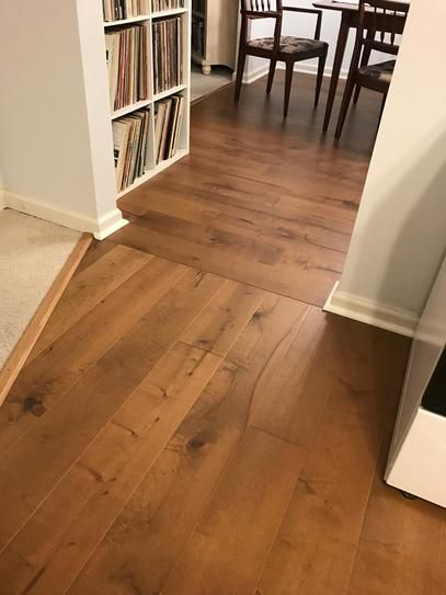 Malibu Wide Plank Maple Cardiff 3 8 In Thick X 6 1 2 In Wide X Varying Length Engineered Click Hardwood Flooring 23 64 Sq Ft Case Hdmpcl206ef The Home D In 2020 Wood Floors Wide