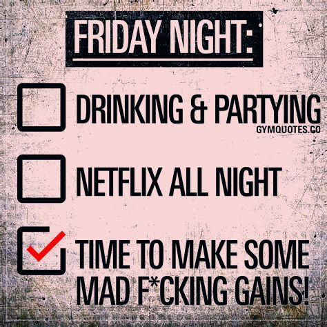 Friday Fitness Quotes Funny Fitnessmotivation Fitness Motivation Funny Gym Quotes Friday Quotes Funny Its Friday Quotes