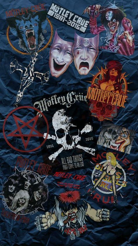 Download End Of Days Wallpaper By Fun1ps Now Browse Millions Of Popular Crue Wallpapers And Ringtones On Zedg Motley Crue Classic Rock Bands Heavy Metal Music