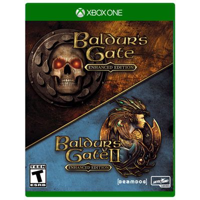 Baldur S Gate 1 2 Enhanced Edition Xbox One English