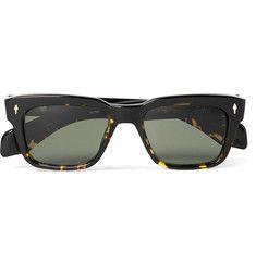 ac63b4c042 Jacques Marie Mage - Molino Square-Frame Tortoiseshell Acetate Sunglasses