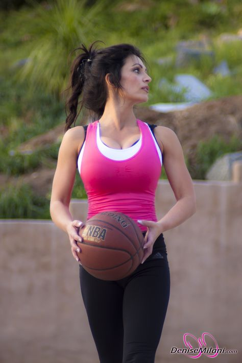 Denise Milani Basketball
