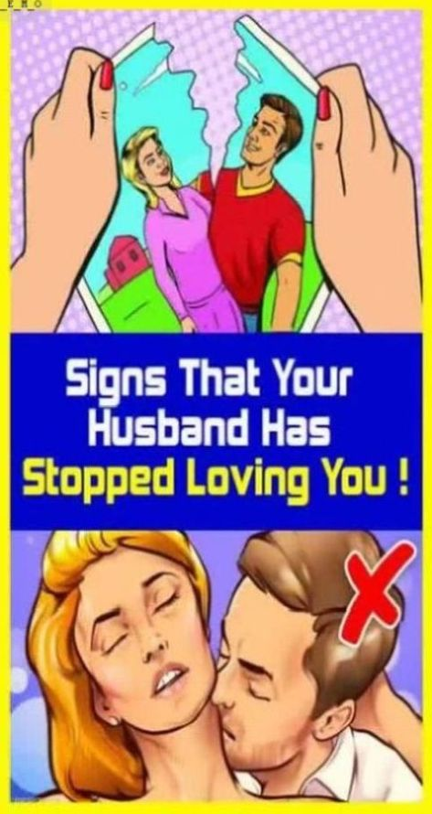Your husband doesn�t love you anymore!