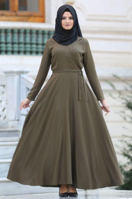 Neva Style Tesettur Boydan Elbise Modelleri Moda Tesettur Giyim Basortusu Modasi Musluman Modasi Moda Stilleri