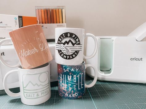 The Cricut Mug Press! – Salt  Pine Company #cricutmugpress #cricutmade #ad @officialcricut