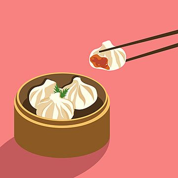Dimsum Cuisine Food Illustration Food Clipart Dimsum Food Png And Vector With Transparent Background For Free Download Food Illustrations Food Clipart Cute Food Art