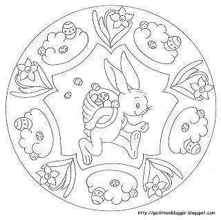 Archivio Album Scuola Pasqua Disegni Di Mandala Da Colorare E