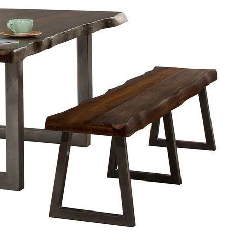 Awe Inspiring Hillsdale Emerson Wood Bench Grey Sheesham 5925B Ncnpc Chair Design For Home Ncnpcorg
