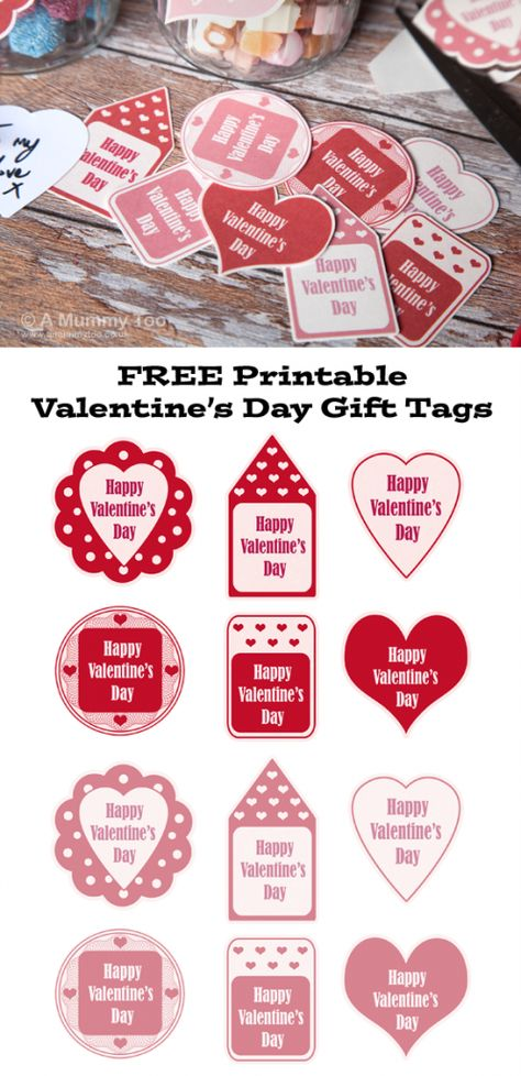b0c1d33ab12b Free printable Valentine s Day gift tags in pink and red ...