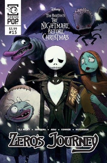 The Nightmare Before Christmas Manga 2020 Disney Manga: Tim Burton's The Nightmare Before Christmas   in