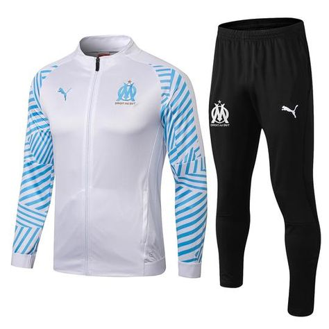 540dcd3aa00d Olympique de Marseille L om Puma Football club 2018 - 19 TRAINING Casual  TOP TRACKSUIT Zipper FÚTBOL CALCIO SOCCER FUSSBALL Men s Sweatshirt Jogging  Pants ...