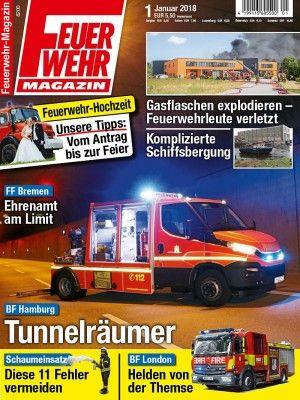 Feuerwehr Magazin 01 2018 Feuerwehr Magazin Feuerwehr Und