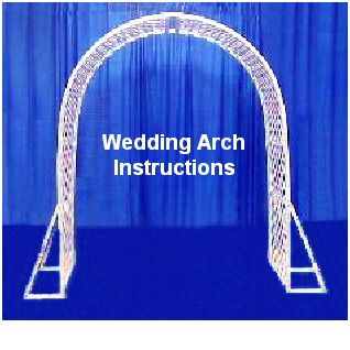 How To Make Wedding Arches Your Al Source For Party Planners Event Meeting Pinterest
