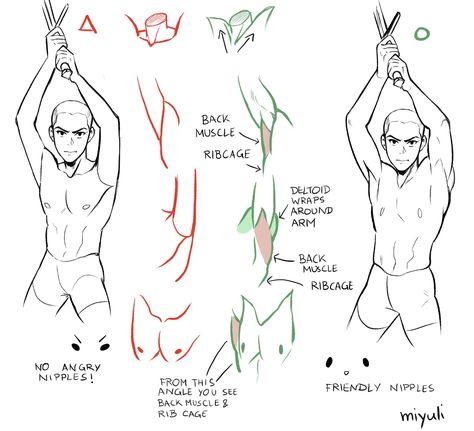 Anatomy Sketches, Anatomy Drawing, Anatomy Art, Drawing Techniques, Drawing Tips, Drawing Sketches, Art Drawings, Drawing Body Poses, Drawing Reference Poses