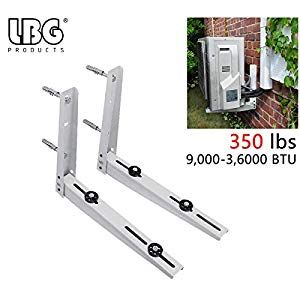 Ac Parts Universal Outdoor Wall Mounting Bracket For Ductless Mini Split Air Conditioner Condens In 2020 Heat Pump System Air Conditioner Condenser Ductless Mini Split