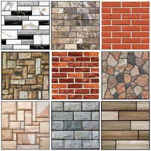 3d Brick Pattern Wallpaper Background Tv Wall Sticker Home Bedroom Decor 30x30cm Brick Pattern Wallpaper 3d Brick Wallpaper Brick Patterns