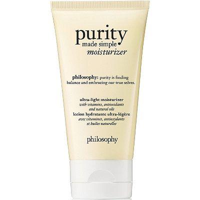 Philosophy Purity Made Simple Moisturizer Ulta Beauty Purity Made Simple Moisturizer Homemade Face Moisturizer