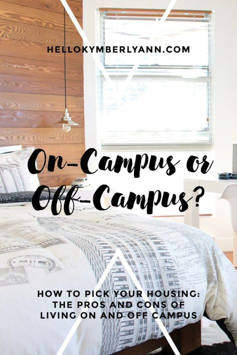 College Housing Part One On Campus Or Off Campus College House