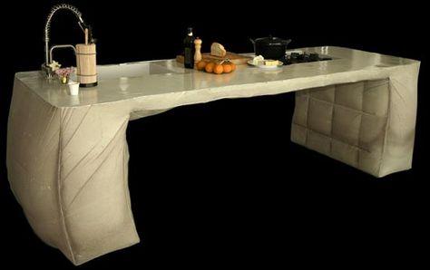 Schön Poured Concrete Kitchen Island   Kitchen Island Design By Thomas Linssen |  Indoor Concrete | Pinterest | Poured Concrete, Concrete Kitchen And Island  Design
