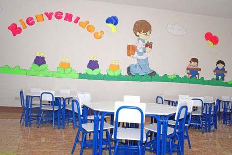 Dibujos Para Decorar Un Salón De Clases De Preescolar