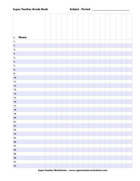 Free+Printable+Teacher+Grade+Book+Sheets | organization ...