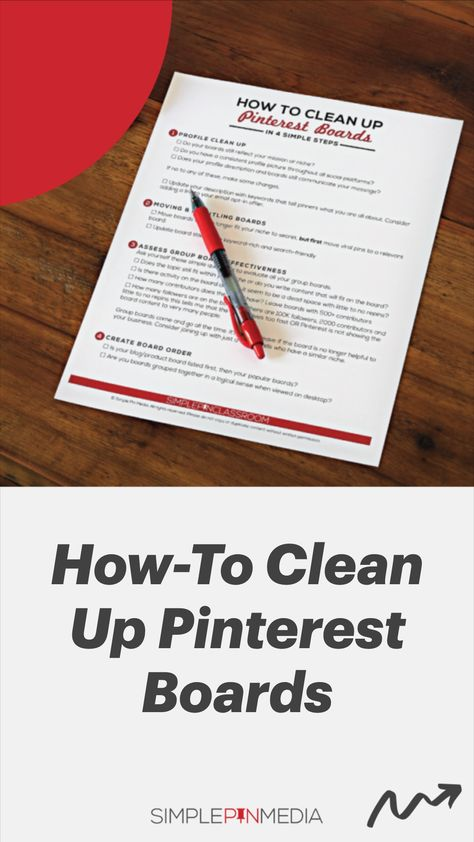 Pinterest Board Clean-up Tips