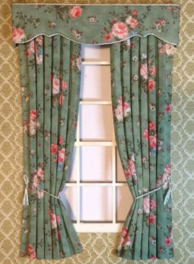 How To Make Curtain Rods For Dollhouse   Dollhouse