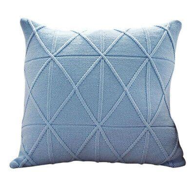 Pillowcase Rhombust Twist Weaving