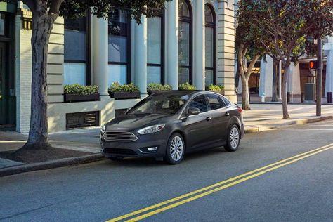 2018 Focus Titanium Sedan In Magnetic Grey With Images Ford