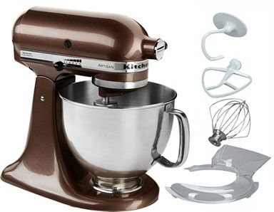 KitchenAid Küchenmaschine 5KSM175PSEWH Artisan, 300 W, 4,83 l ...