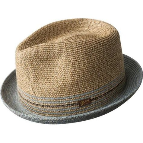 76d24f39 Men's Bailey of Hollywood Hooper Fedora 81710BH - Natural Hats