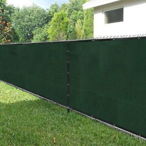 Amagabeli 5 8 X50 Fence Privacy Fence Screen Heavy Duty For 6 X50 Chain Link Fabric Screen With Brass Grommets Outdoor 6ft Patio Fencing Outdoor Chain Link Fence Patio Fence