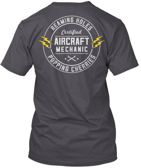 Awesome Aviation Maintenance Shirt Hvac Tech Technician Shirts