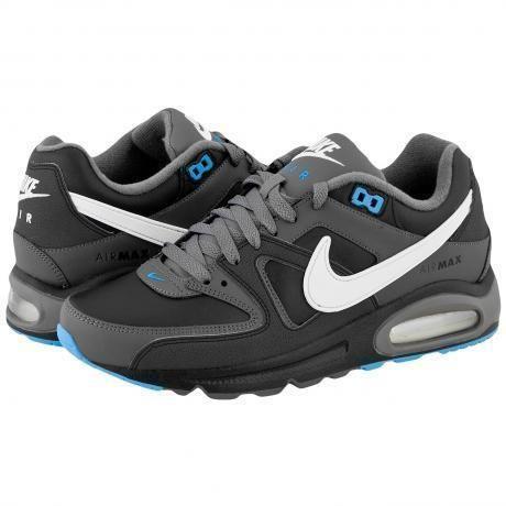 Nike Air Max Command Leather Sneakers BlackWhiteDark Grey