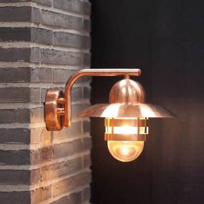 Nibe Outdoor Wall Copper In 2020 Outdoor Wall Lighting Wall Lights Nordlux